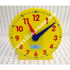 Модель демонстраційного механічного годинника (24 години, не менше 2-х стрілок)