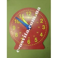 Демонстраційна модель механічного годинника (24 години, годинна, хвилинна стрілки, демонстраційна)