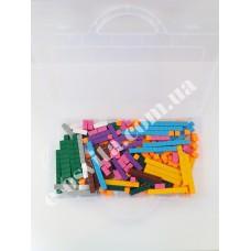 Рахункові палички Кюїзенера (комплект 250 од.) пластикові