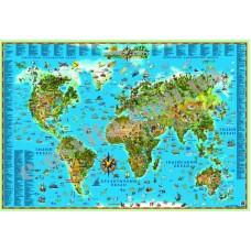 Карта світу для дітей