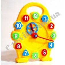 Модель механічного годинника (годинна, хвилинна стрілки) роздаткова