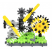Конструктор для вивчення різних конструкцій та механізмів (420 деталей)